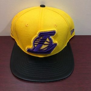 New Era, 9Fifty Snapback Hat, Los Angeles Lakers